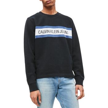 tekstylia Męskie Bluzy Calvin Klein Jeans J30J312448 Czarny
