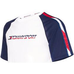 tekstylia Męskie T-shirty z krótkim rękawem Tommy Hilfiger S20S200196 Biały