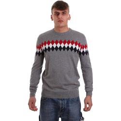tekstylia Męskie Swetry U.S Polo Assn. 52477 48847 Szary