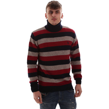 tekstylia Męskie Swetry U.S Polo Assn. 52461 52633 Czerwony