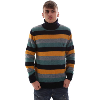 tekstylia Męskie Swetry U.S Polo Assn. 52461 52633 Niebieski