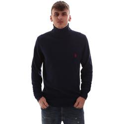 tekstylia Męskie Swetry U.S Polo Assn. 52471 52612 Niebieski