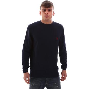 tekstylia Męskie Swetry U.S Polo Assn. 52470 52612 Niebieski