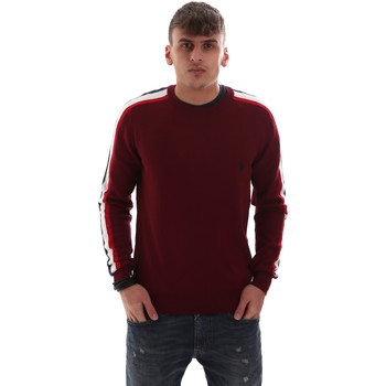 tekstylia Męskie Swetry U.S Polo Assn. 52469 52612 Czerwony