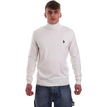 tekstylia Męskie Swetry U.S Polo Assn. 52484 48847 Biały