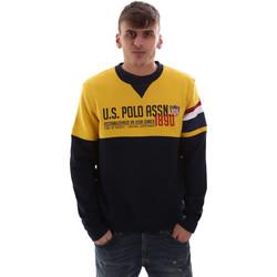 tekstylia Męskie Bluzy U.S Polo Assn. 52522 49151 Żółty