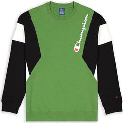 tekstylia Męskie Bluzy Champion 213640 Zielony