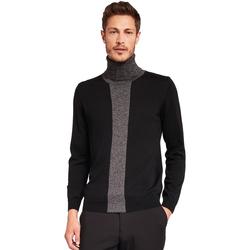tekstylia Męskie Swetry Gaudi 921FU53008 Czarny