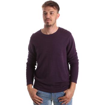 tekstylia Męskie Swetry Gaudi 921FU53017 Fioletowy