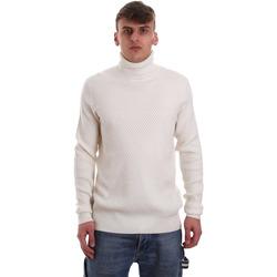 tekstylia Męskie Swetry Gaudi 921FU53048 Biały