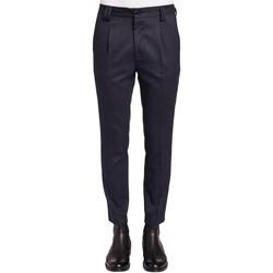 tekstylia Męskie Spodnie od garnituru  Gaudi 921FU25024 Niebieski