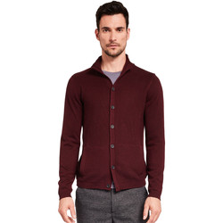 tekstylia Męskie Swetry rozpinane / Kardigany Gaudi 921FU53019 Czerwony