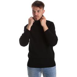 tekstylia Męskie Swetry Gaudi 921FU53048 Czarny