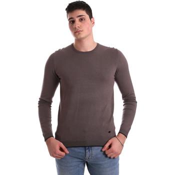 tekstylia Męskie Swetry Gaudi 921BU53001 Brązowy