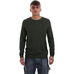 tekstylia Męskie Swetry Gaudi 921BU53001 Zielony