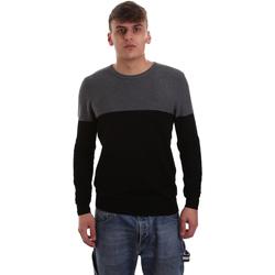 tekstylia Męskie Swetry Gaudi 921BU53010 Czarny