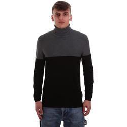 tekstylia Męskie Swetry Gaudi 921BU53011 Czarny