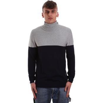 tekstylia Męskie Swetry Gaudi 921BU53011 Niebieski