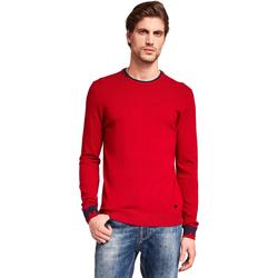 tekstylia Męskie Swetry Gaudi 921BU53012 Czerwony