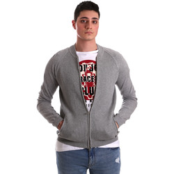 tekstylia Męskie Swetry rozpinane / Kardigany Gaudi 921BU53015 Szary