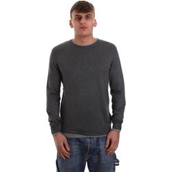 tekstylia Męskie Swetry Gaudi 921BU53036 Szary