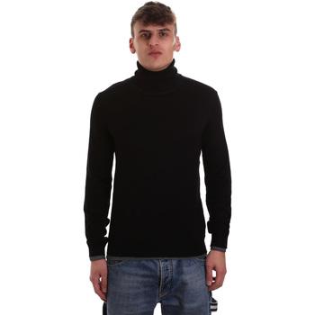 tekstylia Męskie Swetry Gaudi 921BU53040 Czarny