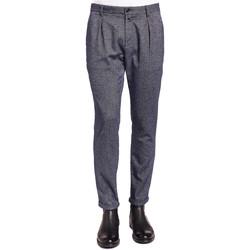 tekstylia Męskie Spodnie od garnituru  Gaudi 921BU25018 Niebieski