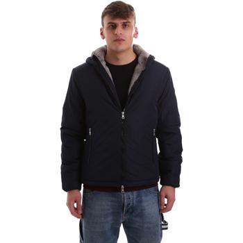tekstylia Męskie Bluzy dresowe Gaudi 921BU35006 Niebieski