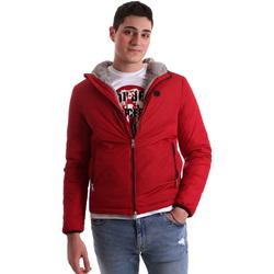 tekstylia Męskie Kurtki krótkie Gaudi 921BU35006 Czerwony