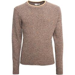 tekstylia Męskie Swetry NeroGiardini A974510U Beżowy