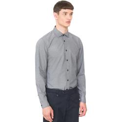 tekstylia Męskie Koszule z długim rękawem Antony Morato MMSL00548 FA430389 Niebieski
