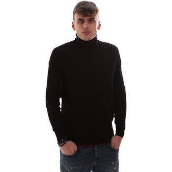tekstylia Męskie Swetry Antony Morato MMSW00958 YA500002 Czarny