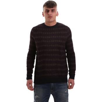 tekstylia Męskie Swetry Antony Morato MMSW00972 YA400113 Niebieski