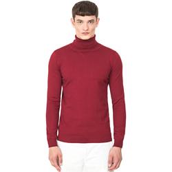 tekstylia Męskie Swetry Antony Morato MMSW00975 YA200055 Czerwony