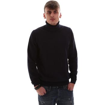 tekstylia Męskie Swetry Antony Morato MMSW00975 YA200055 Niebieski