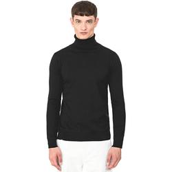 tekstylia Męskie Swetry Antony Morato MMSW00975 YA200055 Czarny
