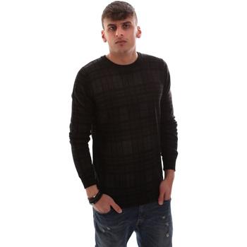 tekstylia Męskie Swetry Antony Morato MMSW00985 YA400006 Czarny