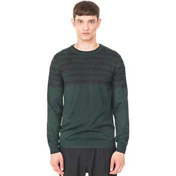 tekstylia Męskie Swetry Antony Morato MMSW00994 YA400006 Zielony