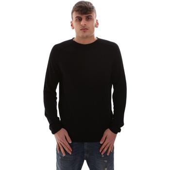 tekstylia Męskie Swetry Antony Morato MMSW00998 YA200038 Czarny