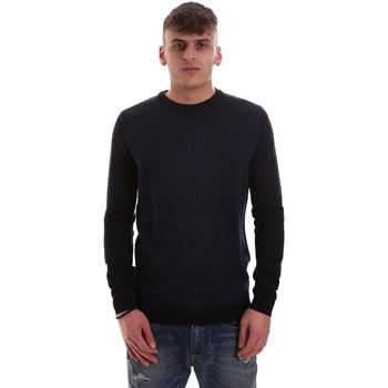 tekstylia Męskie Swetry Antony Morato MMSW01000 YA400006 Niebieski