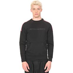 tekstylia Męskie Bluzy Antony Morato MMFL00549 FA150048 Czarny