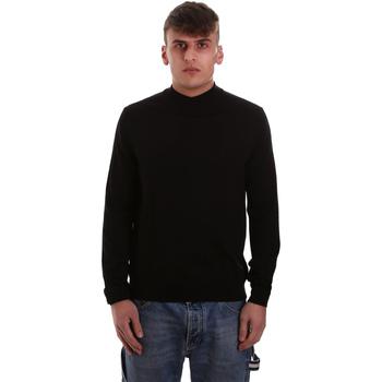 tekstylia Męskie Swetry Navigare NV11006 32 Czarny