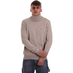 tekstylia Męskie Swetry Navigare NV11006 33 Beżowy