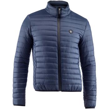 tekstylia Męskie Kurtki pikowane Lumberjack CM37822 005 407 Niebieski