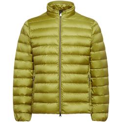 tekstylia Męskie Kurtki pikowane Geox M9425D T2562 Żółty