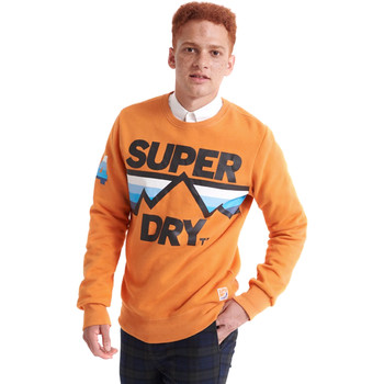 tekstylia Męskie Bluzy Superdry M2000012A Pomarańczowy