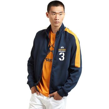 tekstylia Męskie Bluzy dresowe La Martina OMF606 FP077 Niebieski