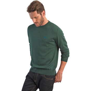 tekstylia Męskie Swetry La Martina OMS005 YW020 Zielony