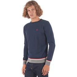tekstylia Męskie Swetry La Martina OMS021 YW025 Niebieski