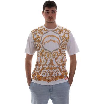 tekstylia Męskie T-shirty z krótkim rękawem Sprayground SP019S Biały